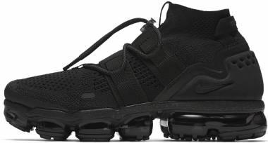 Nike Air VaporMax Flyknit Utility - Black, Black Black (AH6834001)