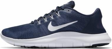 Nike Flex RN 2018 Multicolore (Midnight Navy/White/Blue Recall 001) Men