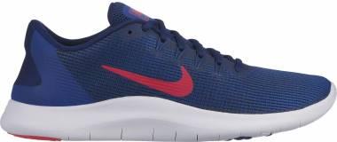 Nike Flex RN 2018 - Blue Void/Red Orbit/Indigo Force/White (AA7397403)