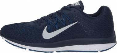 Nike Air Zoom Winflo 5 - Midnight Navy Platino Puro (AA7406401)
