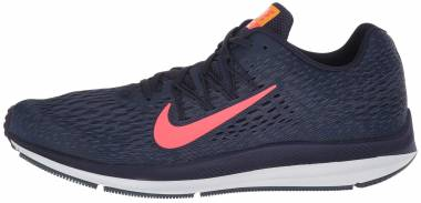 Nike Air Zoom Winflo 5 - Blackened Blue/Flash Crimson