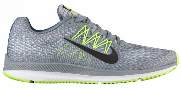 low priced e5b3d 61eb3 Nike Air Zoom Winflo 5 Cool Grey Black Wolf Grey Pure Platinum