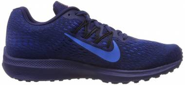 Nike Air Zoom Winflo 5 - Multicolore Blue Void Photo Blue Indigo Force Black 405 (AA7406405)