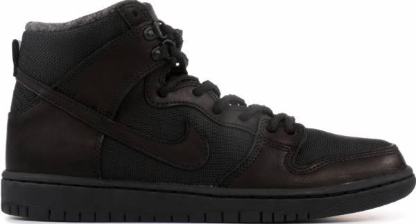 new styles 05c0a 95590 Nike SB Dunk Hi Pro Bota Black
