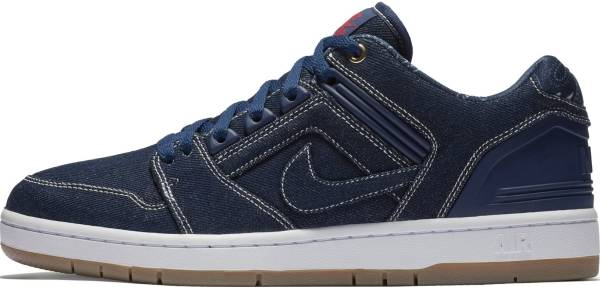 Nike SB Air Force II Low Binary Blue, Binary Blue-white