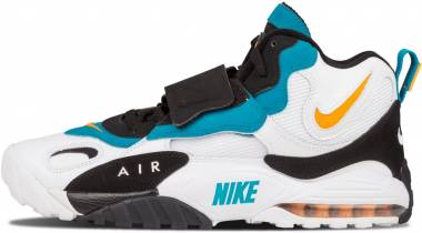 Nike Air Max Speed Turf Multicolore (White/Indstrl Orange/Black 100) Men