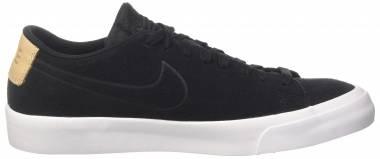 Nike Blazer Studio Low Black (Black/Black-vachetta Tan-white) Men