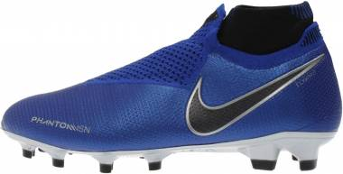 Nike Phantom Vision Elite DF Firm Ground - Multicolore (Racer Blue/Black-metallic Silver-volt 400)