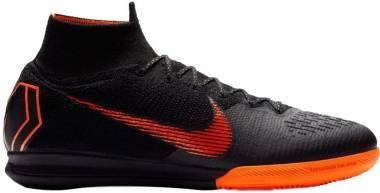 Nike MercurialX Superfly 360 Elite Indoor Black/Orange Men