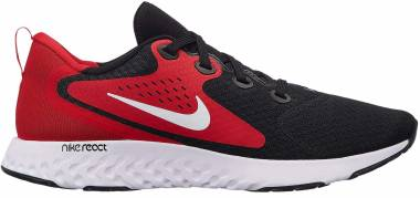 Nike Legend React - Mehrfarbig Black White University Red 004 (AA1625004)