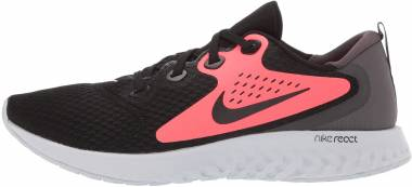 Nike Legend React Black Crimson Thunder Grey Men