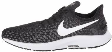 Nike Air Zoom Pegasus 35 FlyEase - Black/White-gunsmoke-oil Grey (AV2315010)