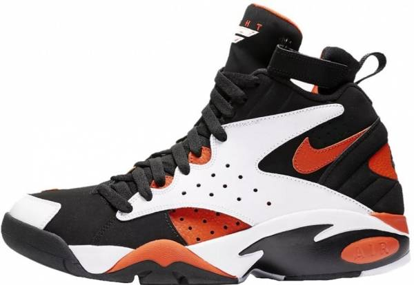 best sneakers 9452a 479f1 Nike Air Maestro 2 White Rush Orange-black