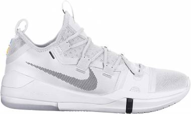 new product 6131a 3605b Nike Kobe AD 2018 Bianco (White 100) Men