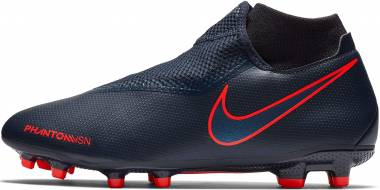 Nike Phantom Vision Academy Dynamic Fit MG - Obsidian/Black/Bright Crimson/University Blue (AO3258440)