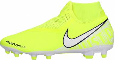 Nike Phantom Vision Academy Dynamic Fit MG - Green Volt White Volt 717 (AO3258717)