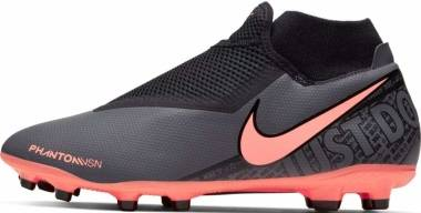Nike Phantom Vision Academy Dynamic Fit MG - Grau Dk Grey Brt Mango Black Black 080 (AO3258080)