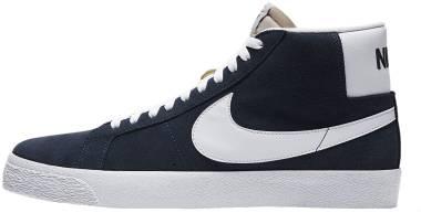 Nike SB Blazer Mid - Blue (864349401)