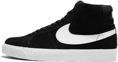 check out a95d2 86158 Nike SB Blazer Mid Black Men