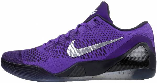 newest b8a85 c226d Nike Kobe 9 Elite Low hyper grape, white-cave purple