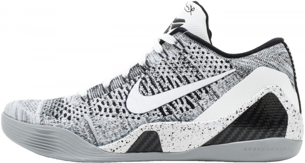 Nike Kobe 9 Elite Low - White (639045101)