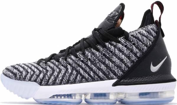 Nike LeBron 16 - Black Metallic Silver White