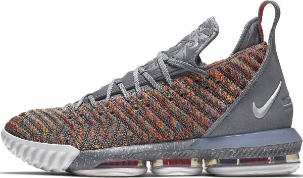 cheap for discount 2304c 9d342 Nike LeBron 16 multi-color, multi-color. Any color. Nike LeBron 16 black, metallic  silver-white Men