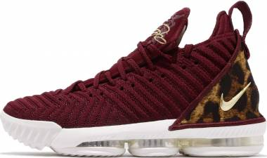 Nike LeBron 16 Team Red, Metallic Gold- Multi Men