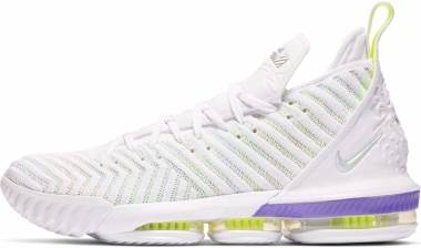 finest selection e41db 5246c Nike LeBron 16 White Men