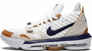 Nike LeBron 16 - White Midnight Navy Ginger
