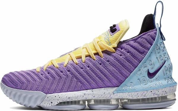 Nike LeBron 16 - Atomic Violet / Bicycle Yellow