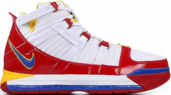 Nike Lebron 3 Retro - White/ Red