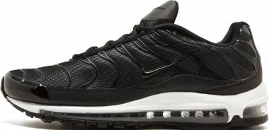 Nike Air Max 97 Plus Mens Running Shoes Black White For Sale