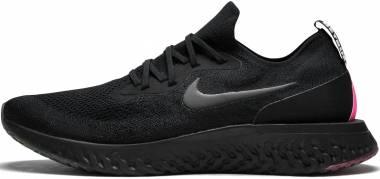 Nike Epic React Flyknit BETRUE - Black Black Pink Blast