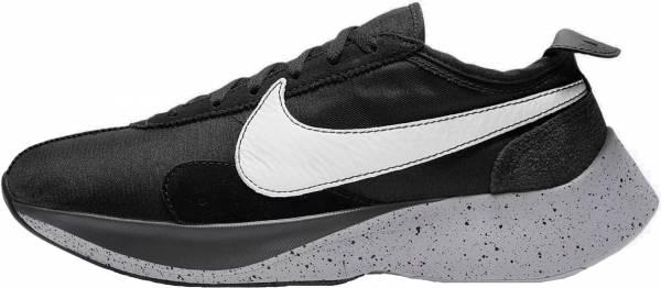 Nike Moon Racer - Black White Wolf Grey 001