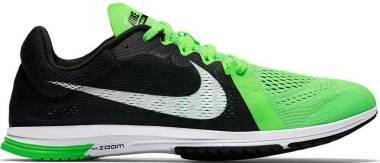 Nike Air Zoom Streak LT 3 - Negro / Blanco / Verde (Black / White-voltage Green)