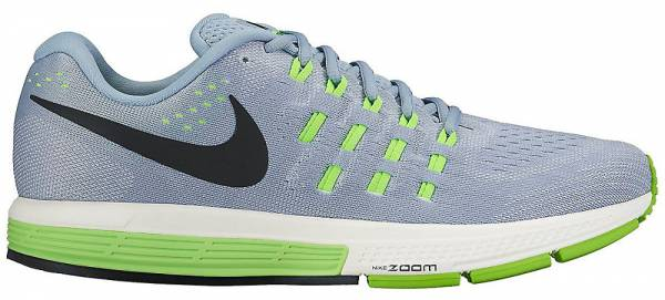Nike Running Shoes Green And Grey