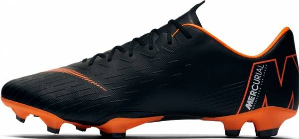 new concept 8560e cb0fa Nike Mercurial Vapor XII Pro Firm Ground Black White Orange