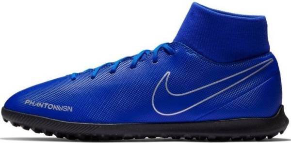 Nike Phantom Vision Club Dynamic Fit Turf - Mehrfarbig Racer Blue Black Metallic Silver Volt 400 (AO3273400)