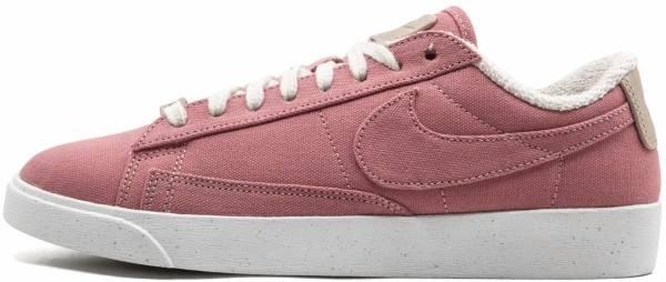 nike blazer low lx pink