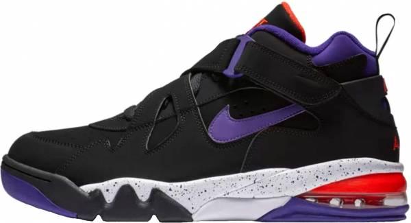 Black/Court Purple/Team Orange/White