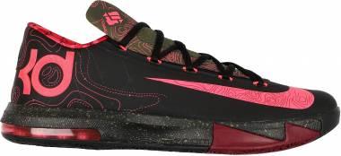 Nike KD 6 - black, atmc red-mdm olv-nbl rd (599424006)