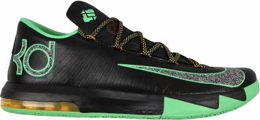 Nike KD 6 Black/Lucid Green-atomic Mango Men