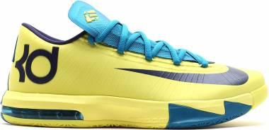 Nike KD 6 Yellow Men