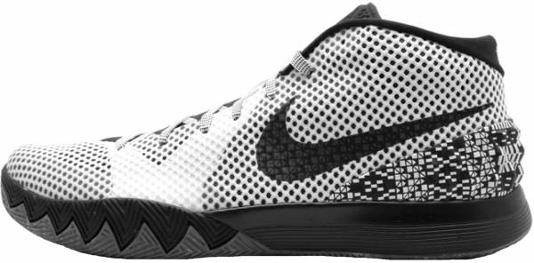 separation shoes 2eaf3 2b342 Nike Kyrie 1 White, Black-dark Grey