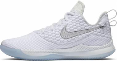 Nike LeBron Witness 3 - Blanco Chrome Platino Puro Gris Lobo