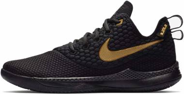 Nike LeBron Witness 3 - Multicolore Black Metallic Gold Black 003