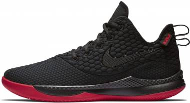 Nike LeBron Witness 3 - Black/University Red