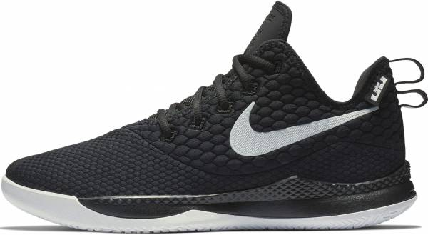 hot sales df1f2 2d80e Nike LeBron Witness 3 Black White Cool Grey