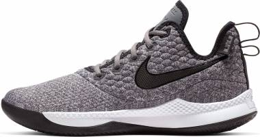 d81fc3476783 Nike LeBron Witness 3 Dark Grey Black White Men